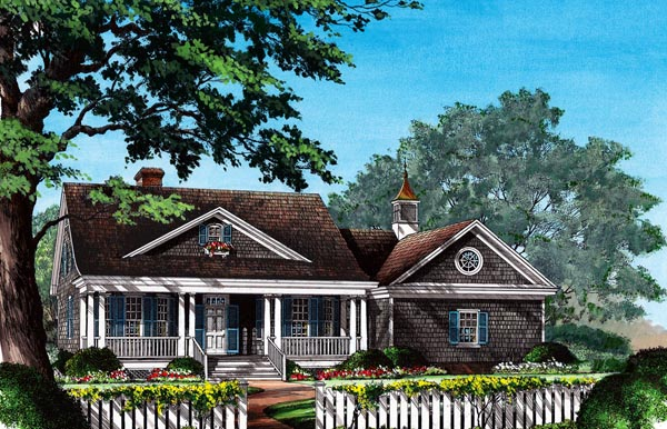 Cottage Country House Plan 86309 Elevation