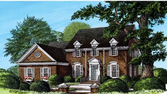 Traditional House Plan 86310 Elevation