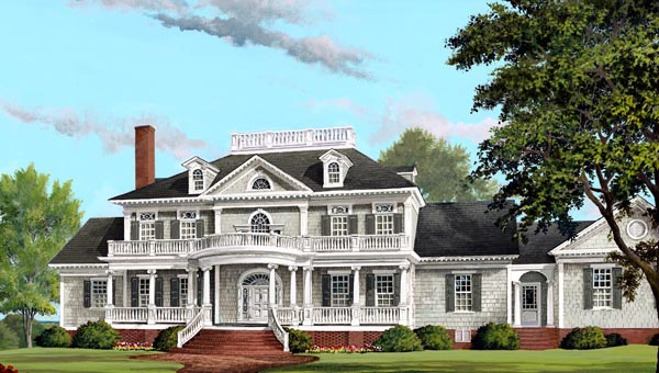 Plantation Traditional House Plan 86340 Elevation Nice Look