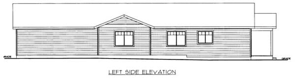 House Plan 86541 with 3 Beds, 2 Baths, 3 Car Garage Picture 1