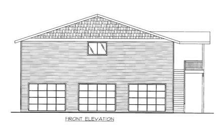 Garage Plan 86554