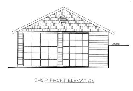 Garage Plan 86576