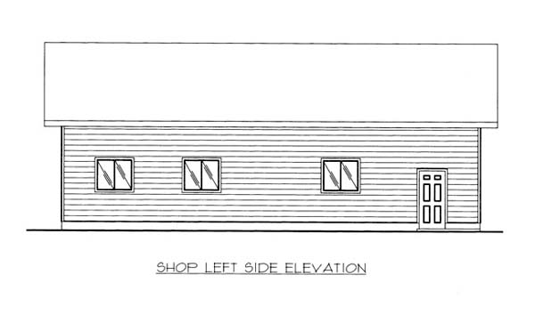 4 Car Garage Plan 86576, RV Storage Picture 1