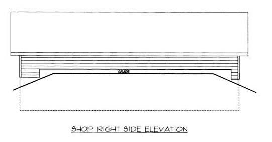 4 Car Garage Plan 86576, RV Storage Picture 2
