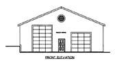 Garage Plan 86590