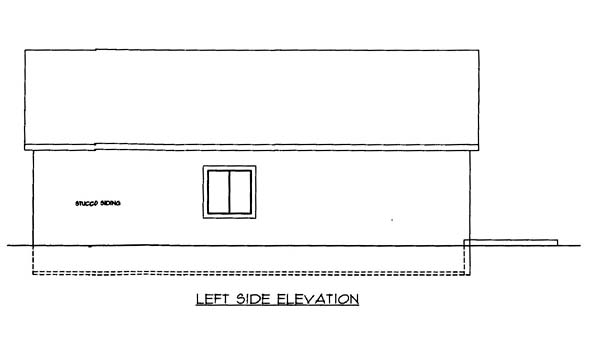 4 Car Garage Plan 86590 Picture 1