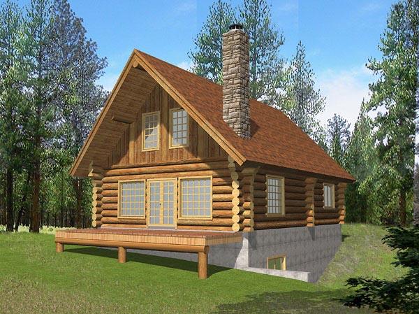 House Plan 86603 Elevation