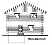Plan Number 86606 - 1845 Square Feet