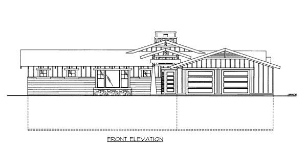 House Plan 86653