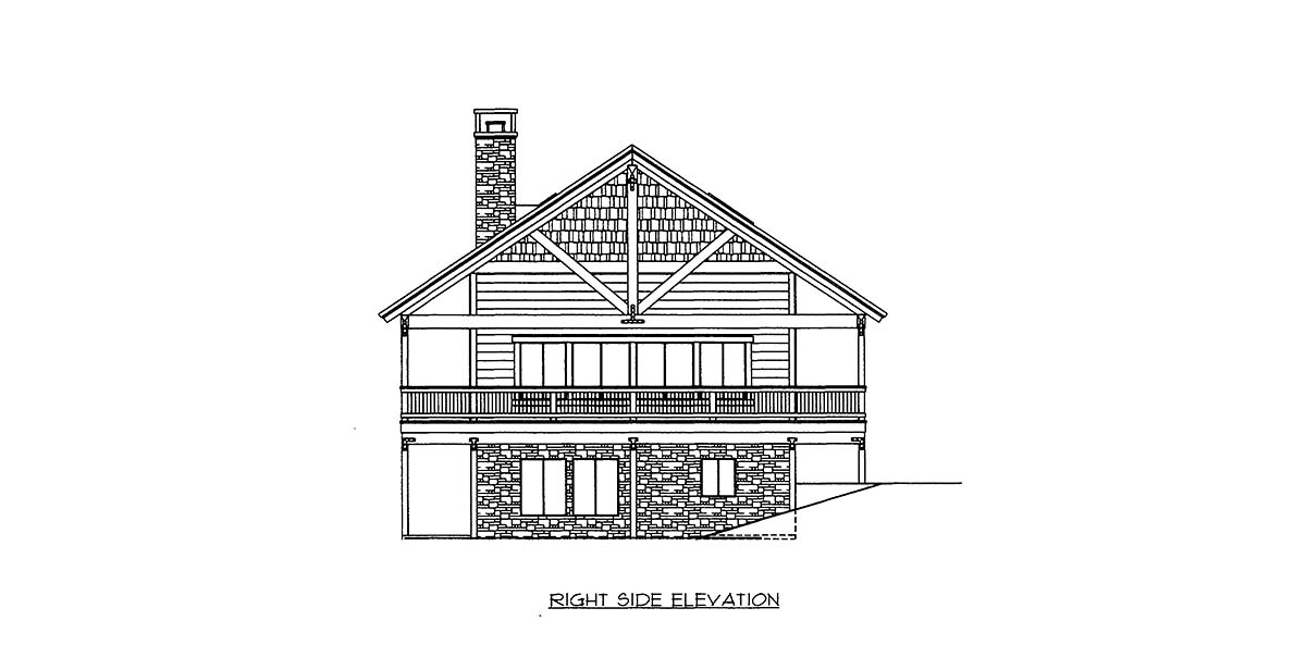 House Plan 86670 with 3 Beds, 2 Baths, 2 Car Garage Picture 1