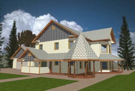 Victorian House Plan 86714 Elevation
