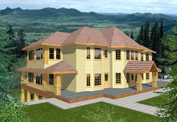House Plan 86745