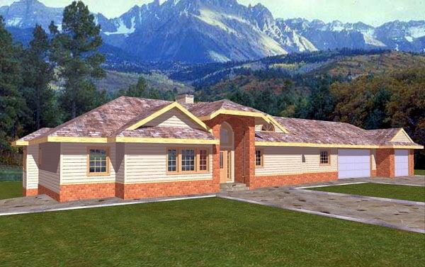 Bungalow House Plan 86755 Elevation