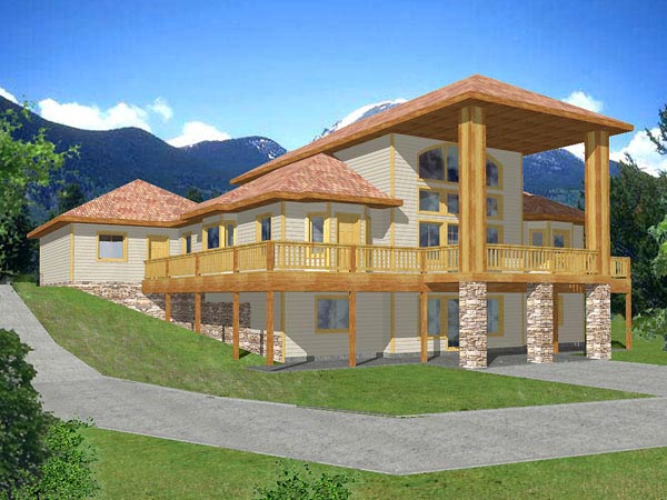 Traditional House Plan 86795 Elevation