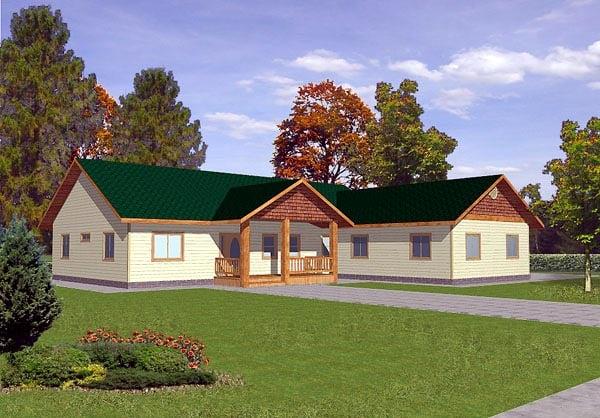 Craftsman House Plan 86797 Elevation