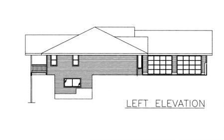 Traditional House Plan 86829 with 3 Beds, 3 Baths, 2 Car Garage Picture 1