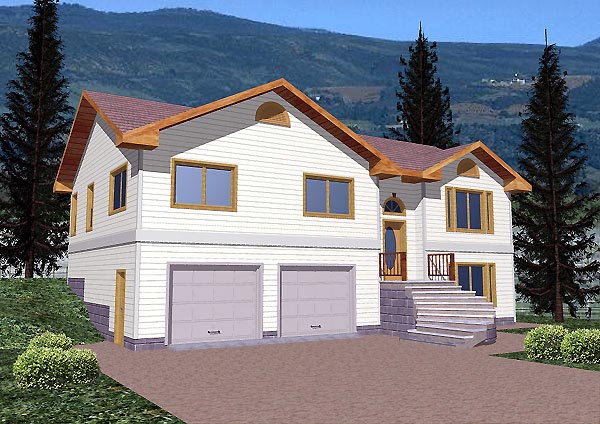Traditional House Plan 86830 Elevation