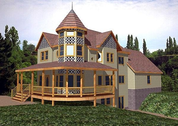 Victorian House Plan 86861 Elevation