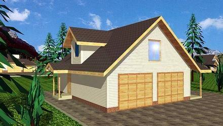 Garage Plan 86864