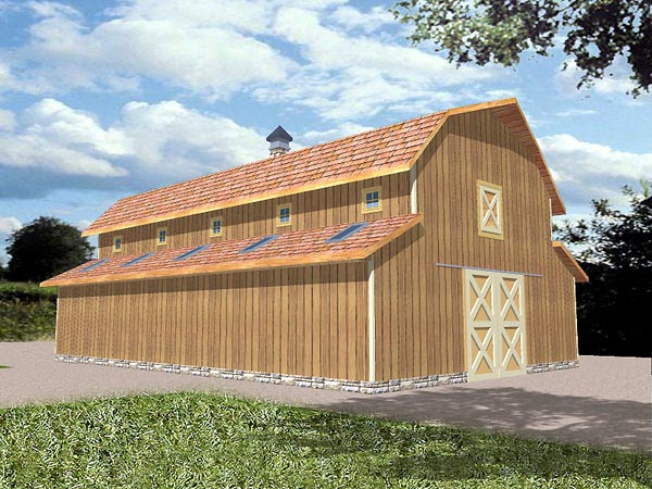 Pole Barn Storage Sheds Plans