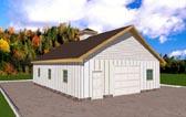 Garage Plan 86882