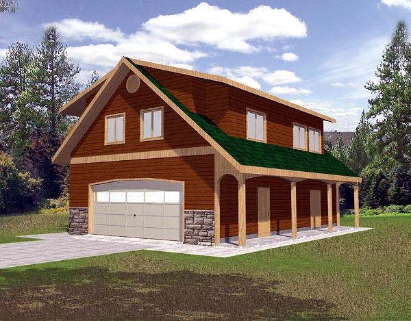 House Plan 86885 Elevation