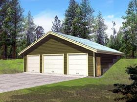 Garage Plan 86886