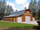 Garage Plan 86889