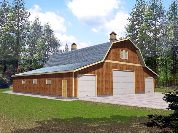 Garage Plan 86889 Elevation