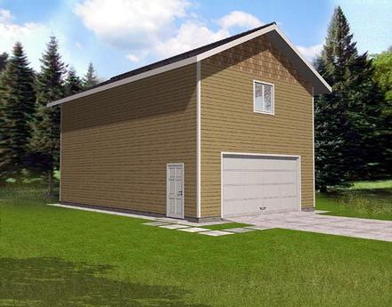 Garage Plan 86891