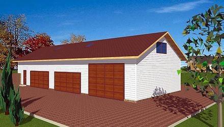 Garage Plan 86894