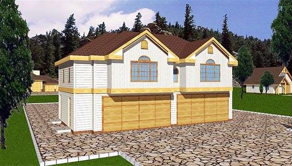 Garage Plan 86895 Elevation