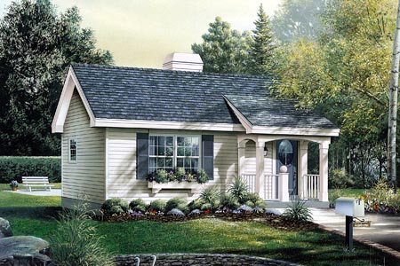 Country House Plan 86901 Elevation
