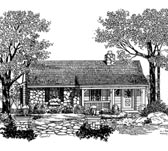 Plan Number 86904 - 647 Square Feet