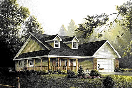Traditional House Plan 86905