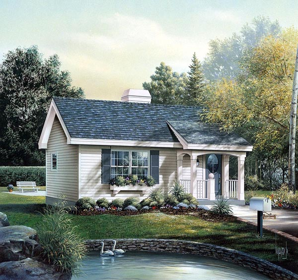 House plan 86955 at for Family homeplans com