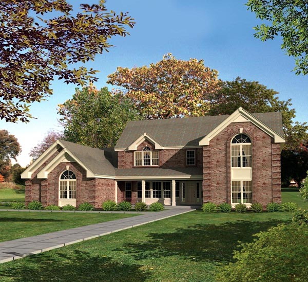 Country Traditional House Plan 86968 Elevation
