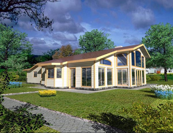 Traditional House Plan 87032 Elevation