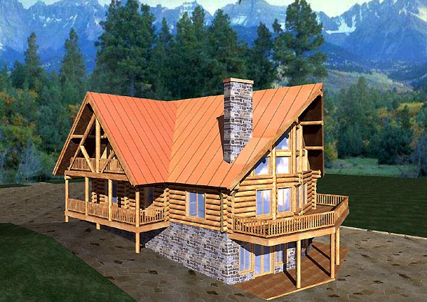 Log Style House Plan 87057 with 6 Bed, 3 Bath on bungalow log house plans, 6 bedroom model homes, 6 bedroom log homes, 6 bedroom cabin plans, 8 bedroom log house plans, loft log house plans, 3 bedroom log house plans, 6 bedroom mansion plans, 6 bedroom ranch plans, home log house plans,