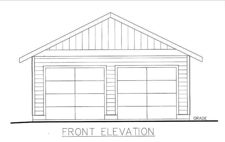 Front Elevation Please : Garage plan at familyhomeplans