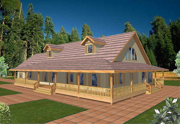 Country House Plan 87102 Elevation
