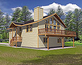 Plan Number 87124 - 2165 Square Feet