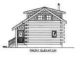 Plan Number 87143 - 640 Square Feet