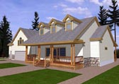 Plan Number 87145 - 3222 Square Feet