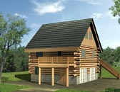 Plan Number 87148 - 1110 Square Feet