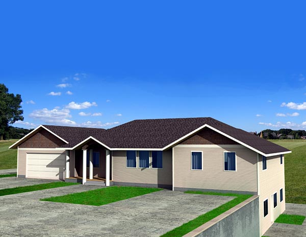 Traditional House Plan 87214 Elevation