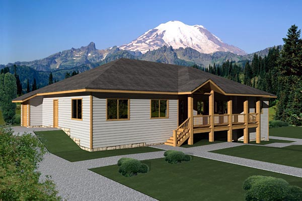 Traditional House Plan 87235 Elevation