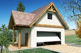 Garage Plan 87276