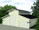 Garage Plan 87277