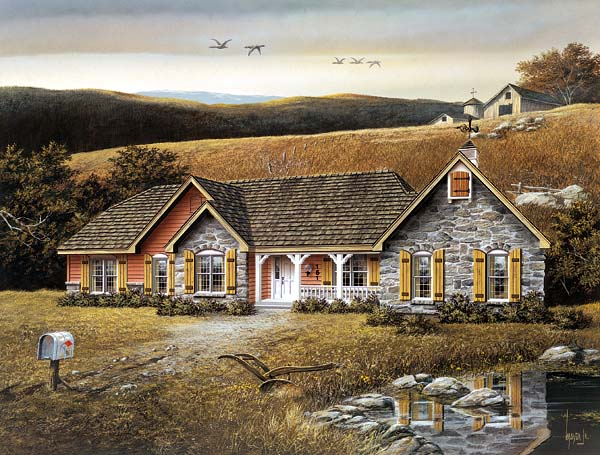 Ranch House Plan 87300 Elevation